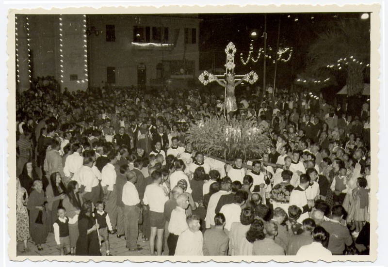 The 1953 procession<br /> <br /> La processione del 1953