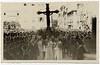 The 1943 procession (in wartime) returns to the church.<br /> <br /> La processione del 1943 rientra nella chiesa di Santa Maria di Nazareth
