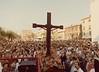 The 1978 venticinquennal procession.<br /> <br /> La processione venticinquennale del 1978