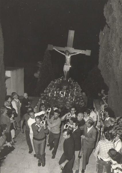 1st July 1978; the Santo Cristo in procession to the cemetery of Sestri Levante<br /> <br /> <br /> 1 Luglio 1978: il Santo Cristo in processione al cimitero di Sestri Levante