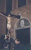 14th October 1994: nocturnal procession for the diocesan mission.<br /> <br /> <br /> 14 ottobre 1994: processione notturna da Santa Maria di Nazareth a Sant'Antonio per la missione diocesana.