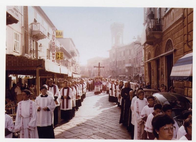 The 1978 procession in Corso Colombo<br /> <br /> La processione del 1978 in Corso Colombo