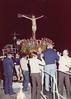 13th August 1978: procession at sea with the Santo Cristo.<br /> <br /> 13th agosto 1978: il Santo Cristo in processione al mare.