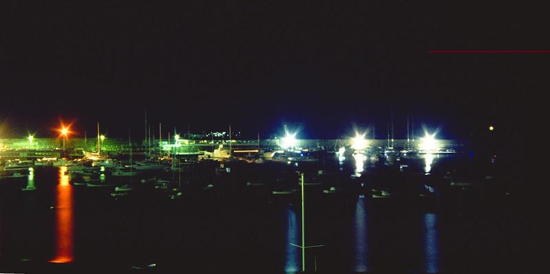 Bay of Fairy Tales by night<br /> <br /> Il porto di Sestri Levante di notte