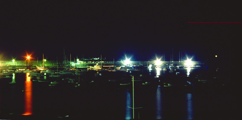 Bay of Fairy Tales by night<br /> <br /> Il porto di Sestri Levante di notte