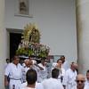 Stitched Panorama Sestri Levante, la processione del Carmine 2011 da Santo Stefano del Ponte a Santa Maria di Nazareth e ritorno.