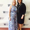 Executive Director Elizabeth Kegley, left, and Alison Burns, both of Lowell
