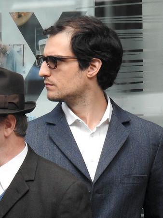 "Michel Hazanavicius filming "" Redoutable "" in Paris"
