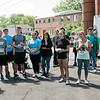 Runners get ready for the Set the Tone ribbon cutting and 5K on Saturday, May 27, 2017 in Leominster. SENTINEL & ENTERPRISE / Ashley Green