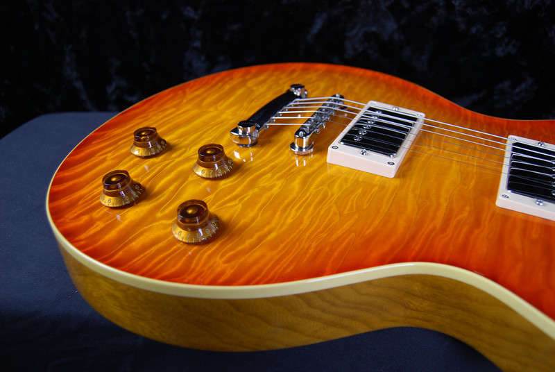 Don Grosh '59 Spec Kornia in Vintage Cherry Burst, HH Pickups