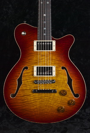 DG-193 ST #0221, Bourbon Burst Finish, HH pickups