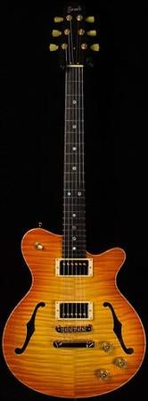 Don Grosh DG-193 in Vintage Amber Burst, HH Pickups