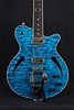 Don Grosh HollowTron in Trans Blue, TV Jones Pickups
