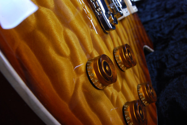 Set Neck Custom, Tobacco Burst, HH Pickups