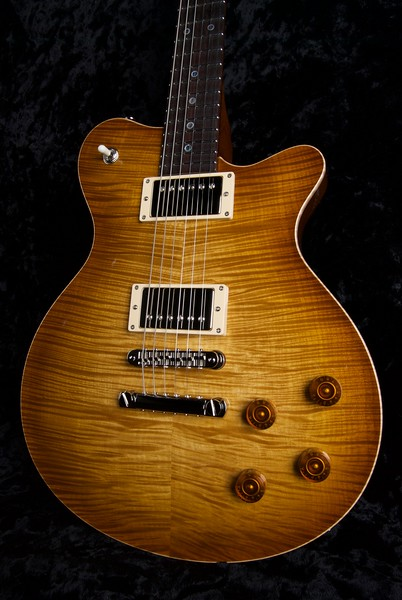 Set Neck Custom, #ST-0223, Vintage Maple Burst, 302, 327 Grosh Humbuckers