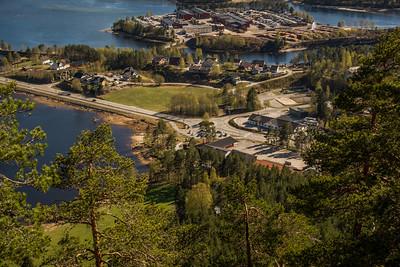 Byglandsfjord i Bygland Kommune