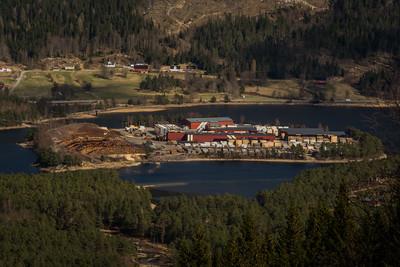 Saga på Byglandsfjord