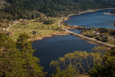 Byglandsfjord, Vassendkilen