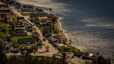 Byglandsfjord, Strandgata
