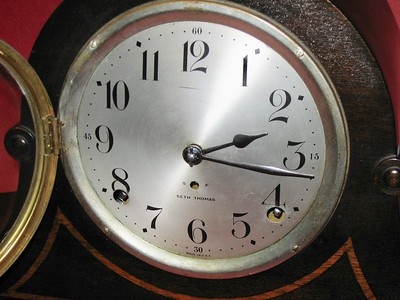The aluminum dial with printed figures.