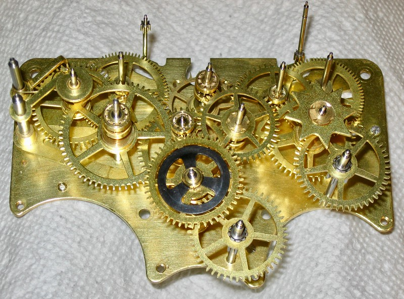 Most gears in place for assembly
