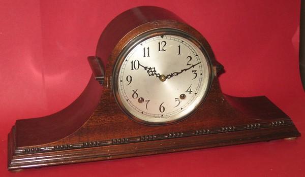 Seth Thomas Tambour Clock with Quarter Hour Strike, 1939