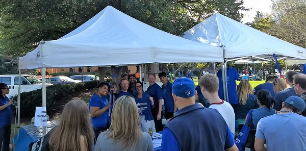 20171020 Mayor Sheena Collum at  Seton Hall Campus Appreciation Day