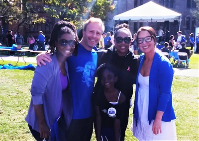 20171020 Stronger Tomorrow Wellness on Seton Hall Campus Christine Thorpe CC Minton w Mayor Sheena Collum