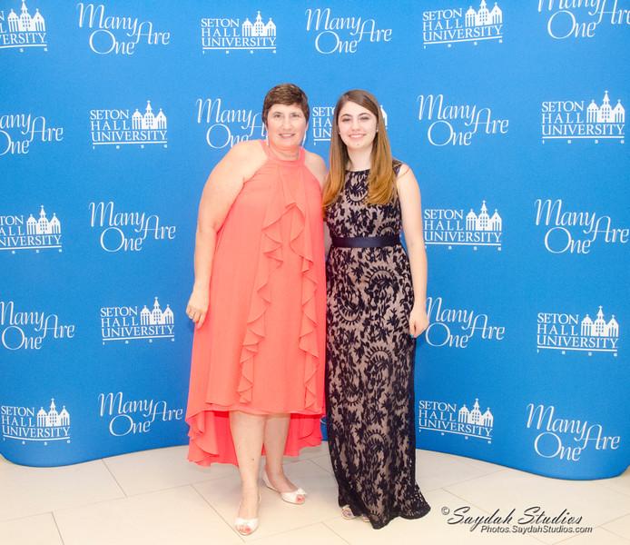 Mary Saydah with her mom Judy