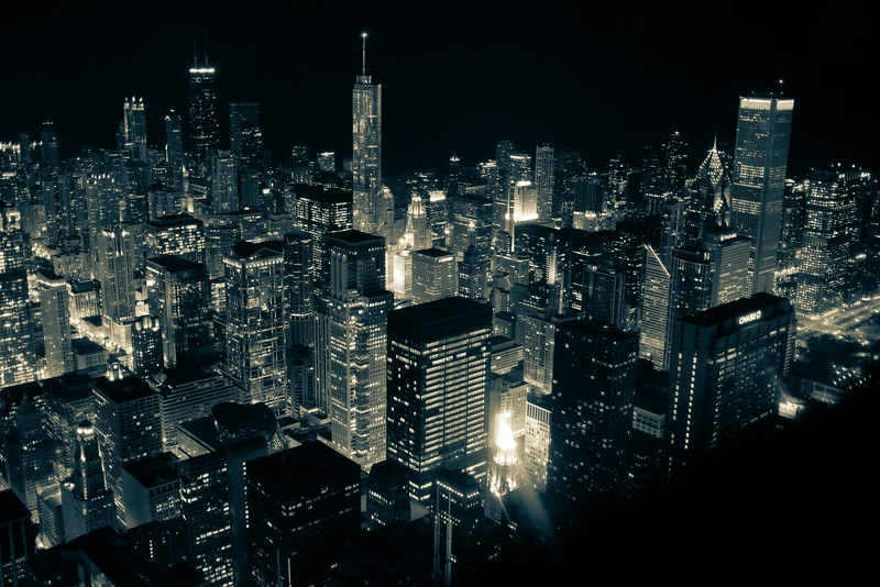 9 // Chicago at Night
