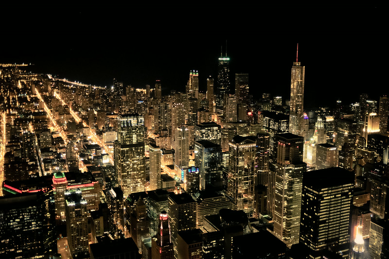 8 // Chicago at Night
