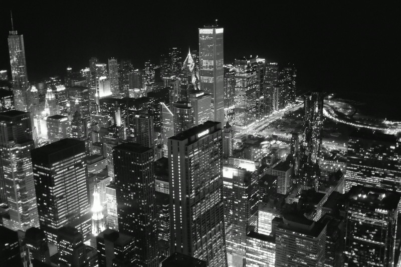 3 // Chicago at Night