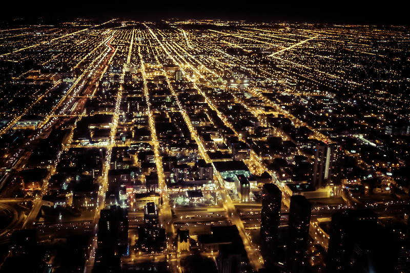 6 // Chicago at Night