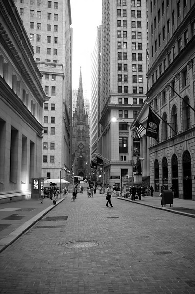 Wall Street, New York City