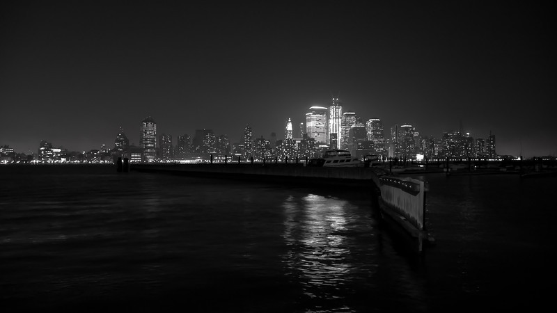 New York City from across the Hudson