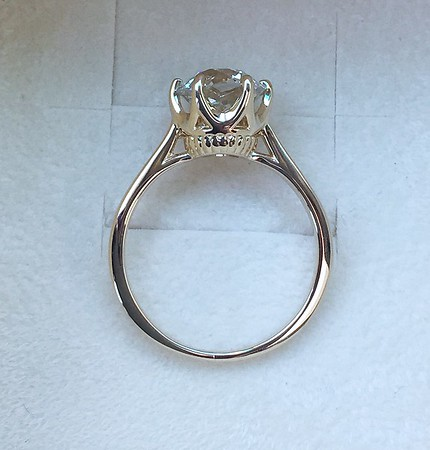 1.91ct Old European Cut Diamond in Stuller Solitaire