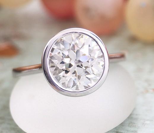 1.78ct OEC Diamond in Sholdt R523