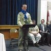 Kevin Chidester becomes the fourth of his brothers to reach the rank of Eagle Scout at his Court of Honor in November 2009. Kevin is now 23. (Photo courtesy of Laura Chidester)