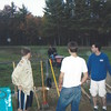 Kevin Chidester, now 23, and others work to restore Timberlee Park's baseball field in Townsend for Kevin's Eagle Scout project in 2009. Kevin would be the fourth Chidester brother to become an Eagle Scout. (Photo courtesy of Laura Chidester)