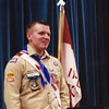 Brian Chidester, now 28, becomes the third Chidester brother to achieve the rank of Eagle Scout at his Court of Honor on Aug. 19, 2006.