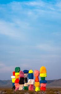 Seven Magic Mountains Huddled