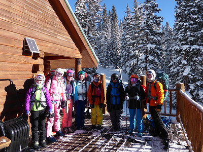 Seventh Grade Hut Trip Group Two