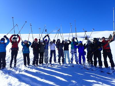 Seventh Grade Sangree Hut Trip Week Two