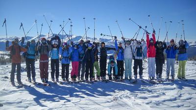 Seventh Grade Trip to Froelicher Hut