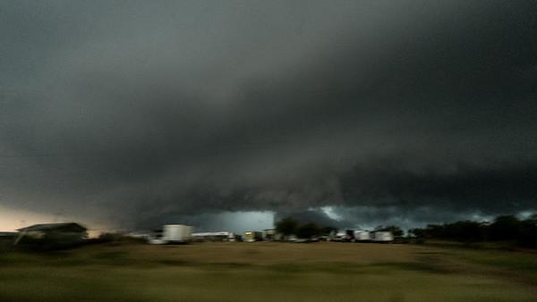 Supercell near Bruni, Texas.