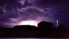 Lightning in Grand Maris, Mn.