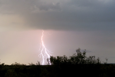 Lightning, Freer, Texas.