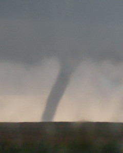 Tornado south of McLean, Texas.