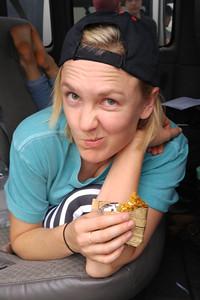 Lexi Crouch near Laredo, Texas.
