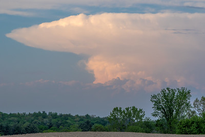 Anvil cloud over Eastern New York
